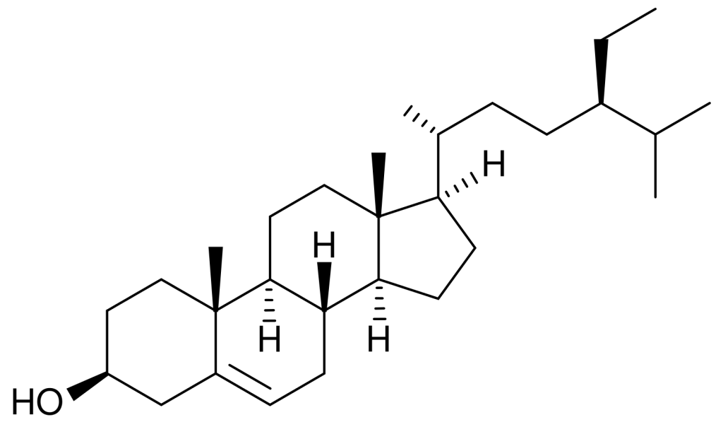 Sitosterol_structure